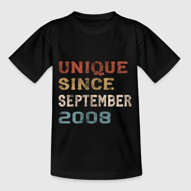 Born in 2008 Birthday September gift - Kids' T-Shirt