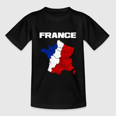 France french flag gift - Kids' T-Shirt