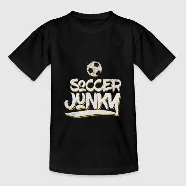 Football Fan Junky - Kids' T-Shirt