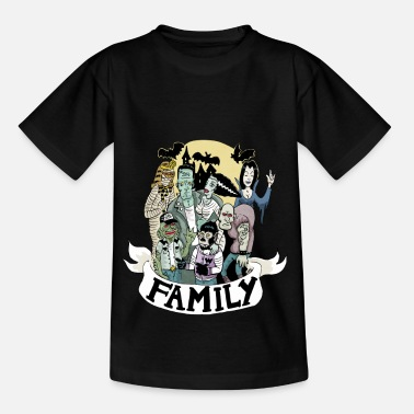 family_monster - T-shirt Enfant