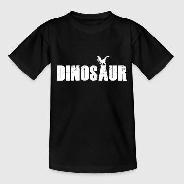 Dinosaur Raptor white - Kids' T-Shirt