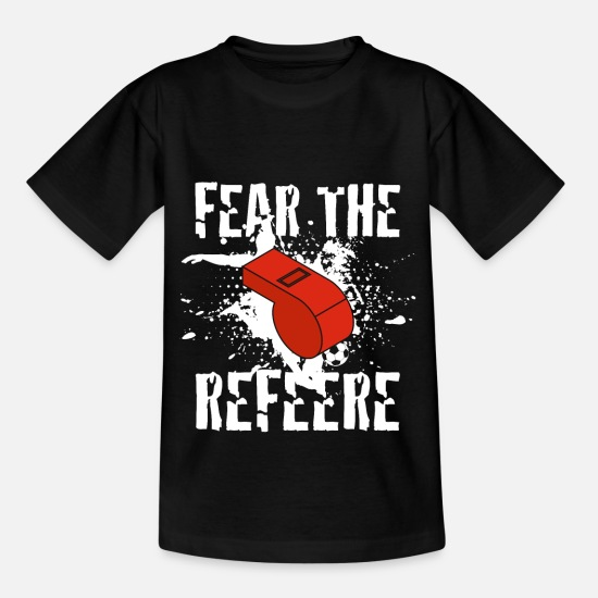 Gift Idea T-Shirts - Referee referee - Kids' T-Shirt black