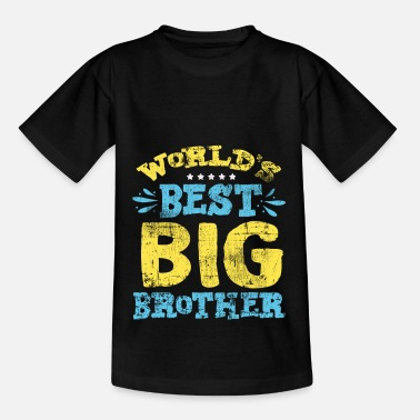 Brother Best Big Brother - Kids' T-Shirt