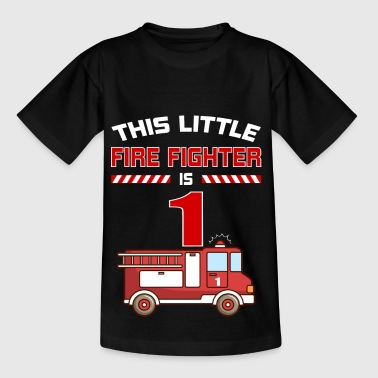 THIS LITTLE FIRE FIGHTER IS 1 - Kids' T-Shirt