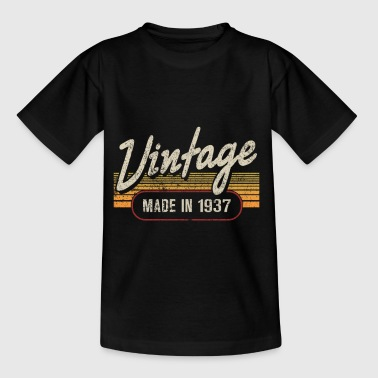 Vintage MADE IN 1937 - Kids' T-Shirt