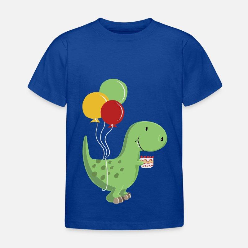 Happy Birthday birthday boy T Rex Dinosaur T skjorte barn