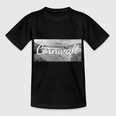 Retro belettering in Cornwall, Engeland - Kinderen T-shirt