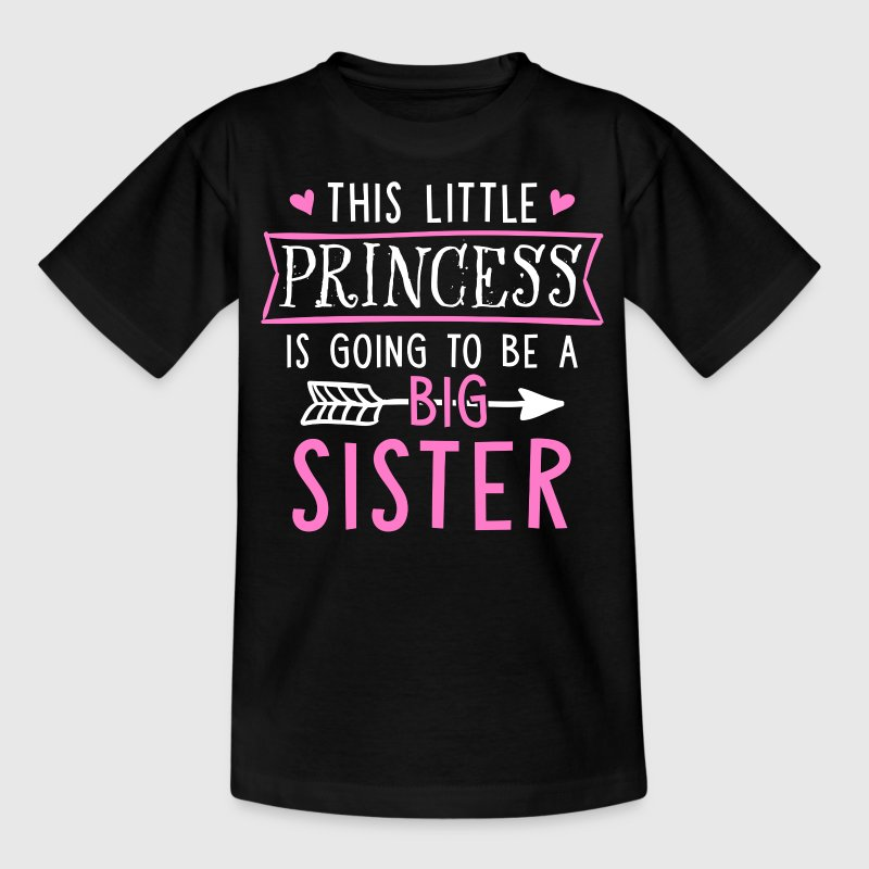 Dit Little Princess Is Going To Be A Big Sister - Kinderen T-shirt