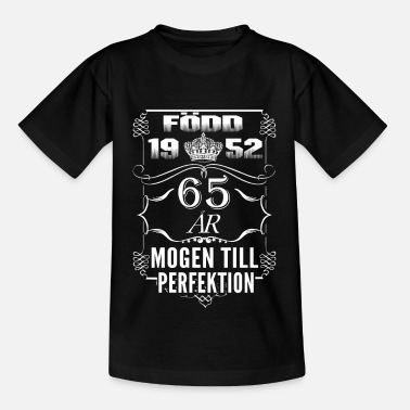 Present 1952-65 years perfection - 2017 - SE - Kids' T-Shirt