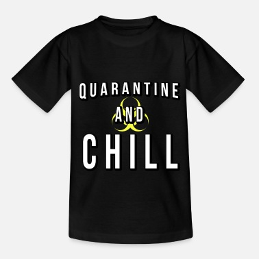 Karantän och Chill Global Pandemic - T-shirt barn