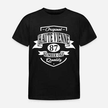 Haute Vienne T shirt Premium Femme noir