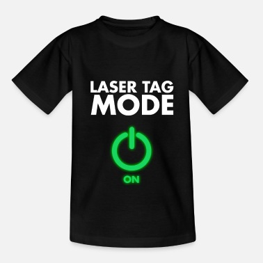 Tag Funny Laser Tag Party Mode On Laser Skirmish - Kids' T-Shirt