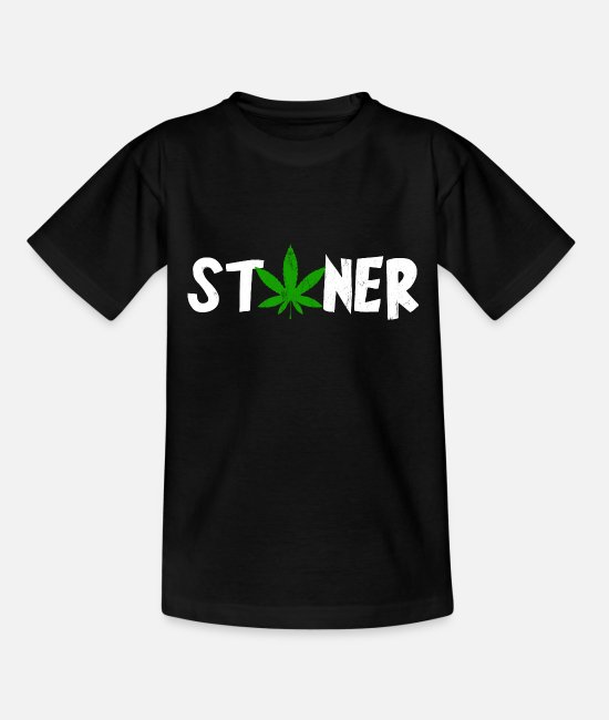 High T-Shirts - Stoner, Marijuana For The Soul - Kids' T-Shirt black