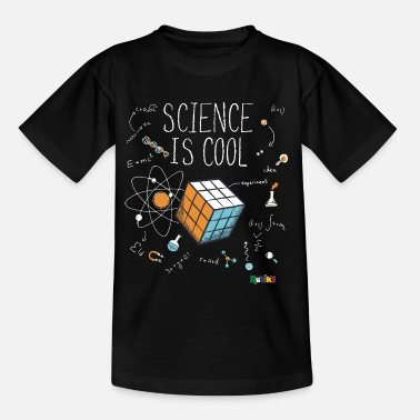 Cube Rubik's Cube Science Cool - T-shirt Enfant