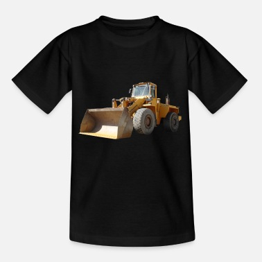 Bauhof Wheel loader_oldtimer - Kinder T-Shirt