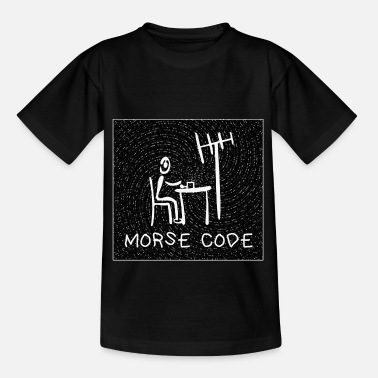 Funk Morse Code Amateur Radio amateur - Kids' T-Shirt