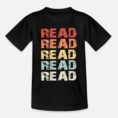 Reading Read Read - Kids' T-Shirt