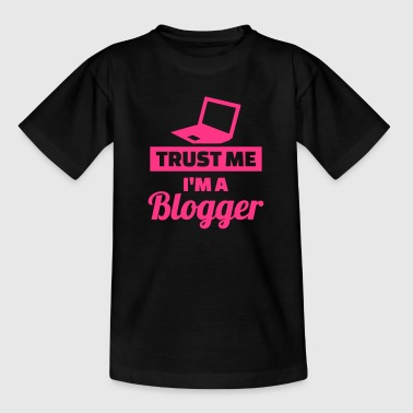 Blogger - Kinder T-Shirt