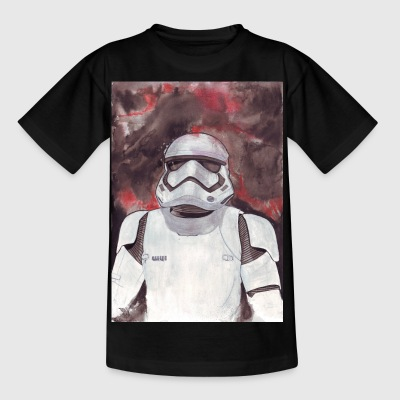 Stormtrooper Galaxy Art - T-shirt Enfant