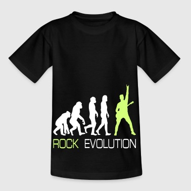 Rock n Roll Heavy Metal Evolution Gift T-Shirt - Kids' T-Shirt