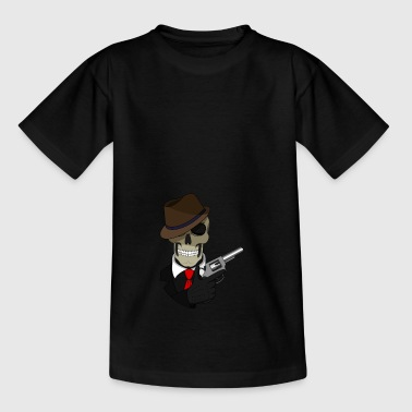 Skelett Gangster - Kinder T-Shirt