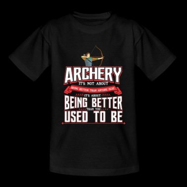 ARCHERY ARCHERY BOWHUNTER BOW GIFT - Kids' T-Shirt