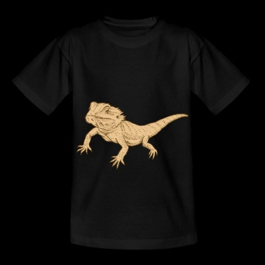 Bearded Dragon Reptile Lizard Gecko Food Grilling - Kids' T-Shirt