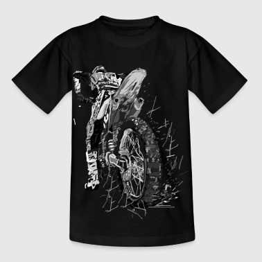 Motor cross - Kinderen T-shirt