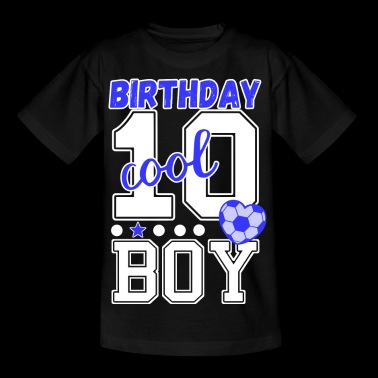 10. Geburtstag Jungs cool Birthday boy - Kinder T-Shirt