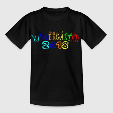 Kindergarten 2018 the kiga shirt Kindi novice - Kids' T-Shirt