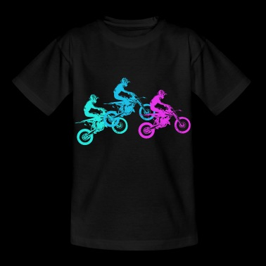 Motorcycle Motocross Motorsport Gift Idea - Kids' T-Shirt