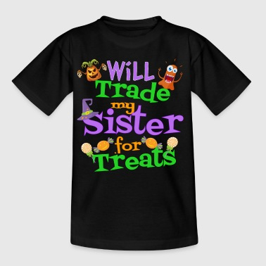 Funny Trick or Treat Shirt for Kids - Kids' T-Shirt