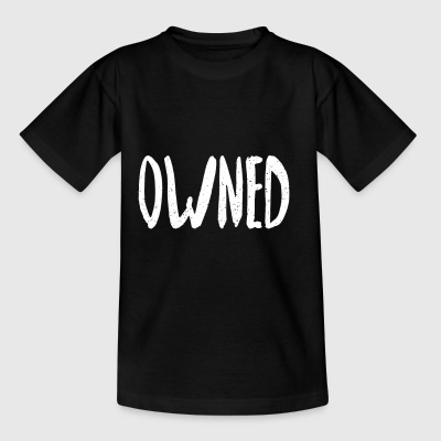 owned - Kinder T-Shirt