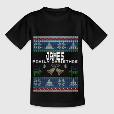 Ugly James Christmas Family Vacation Tshirt - T-skjorte for barn
