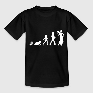 Flamenco roliga skjorta gåvor Grow Evolution - T-shirt barn