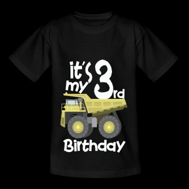 Birthday T-Shirt for year-old Trucker - Kids' T-Shirt