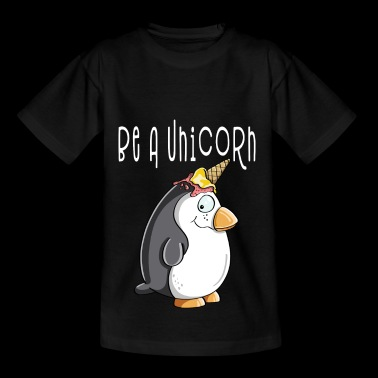 Be A Unicorn Penguin - Unicorn Penguin With Ice - Koszulka dziecięca