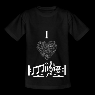 I love music - Kids' T-Shirt