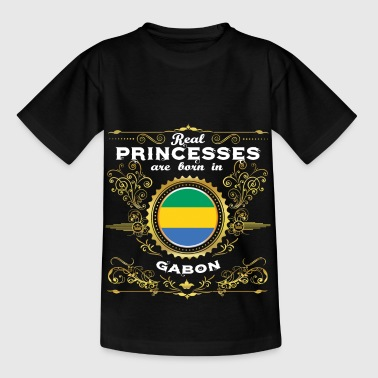 PRINCESS PRINCESS QUEEN BORN GABON - T-shirt Enfant