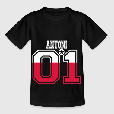 POLAND POLSKA 01 KING QUEEN BIRTHDAY Antoni - Kids' T-Shirt