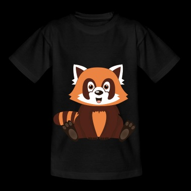 cute red panda bear - Kids' T-Shirt