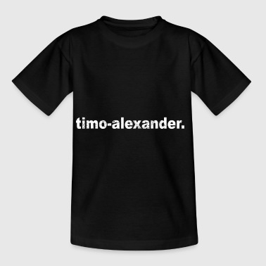Gift grunge style first name timo alexander - Kids' T-Shirt
