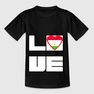 Love Land Roots Tadschikistan - Kinder T-Shirt