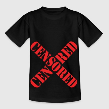 Censored (Zensiert) - Kinder T-Shirt