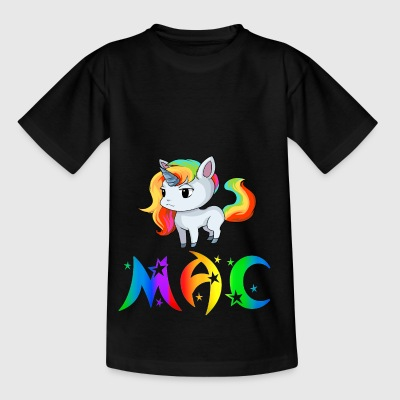 Einhorn Mac - Kinder T-Shirt
