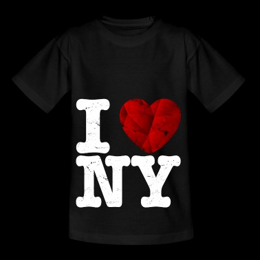 I love New York, t-shirt - coeur d'amour cadeau - T-shirt Enfant