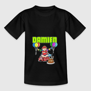 Fire Department Damien gift - Kinderen T-shirt