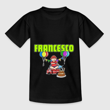 Firefighters Francesco's gift - Kids' T-Shirt