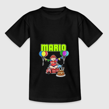 Firefighter Mario gift - Kids' T-Shirt