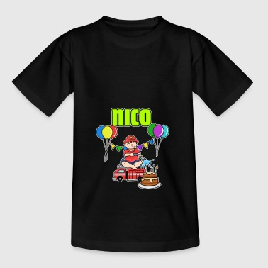 Fire Department Nico gift - Kids' T-Shirt